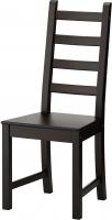 Стул Ikea Каустби 401.822.44 (коричнево-черный) -