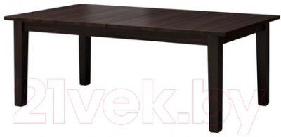 Обеденный стол Ikea Стурнэс 401.849.45 (коричнево-черный) - Инструкция по сборке