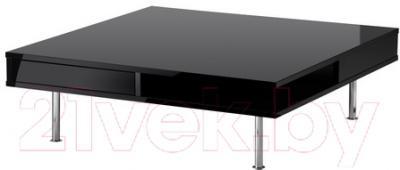 Журнальный столик Ikea Тофтерид 401.974.86 (черный глянцевый)