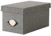 Ящик для хранения Ikea Кварнвик 102.566.65 (серый) -