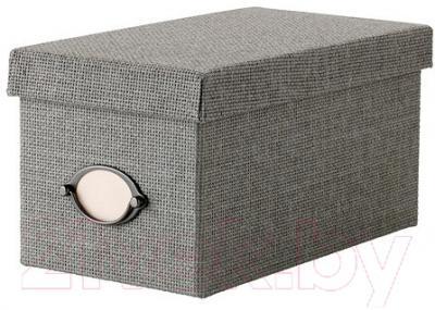 Ящик для хранения Ikea Кварнвик 102.566.65 (серый)