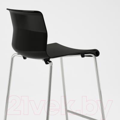 Стул Ikea Глен 402.032.27 (черный/хром)