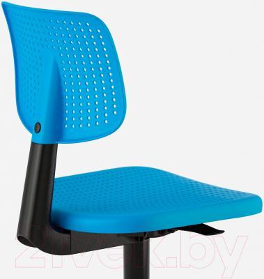 Стул офисный Ikea Альрик 402.141.17 (синий) - вид сзади