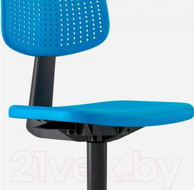 Стул офисный Ikea Альрик 402.141.17 (синий) - вид спереди