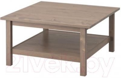 Журнальный столик Ikea Хемнэс 402.141.22 (серо-коричневый)
