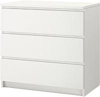 Комод Ikea Мальм 402.145.51 (белый) -