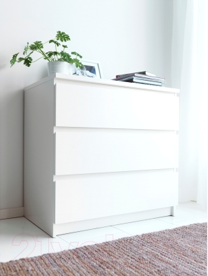Комод Ikea Мальм 402.145.51 (белый)