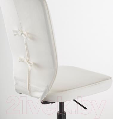 Кресло офисное Ikea Лиллхойден 402.387.12 (белый) - вид сзади