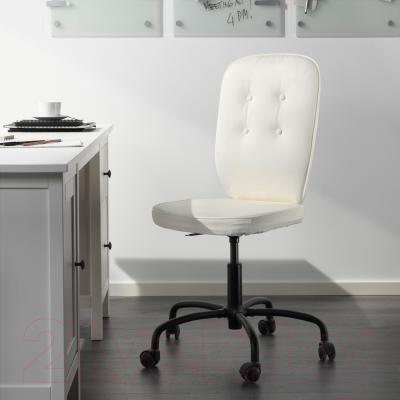 Кресло офисное Ikea Лиллхойден 402.387.12 (белый) - в интерьере