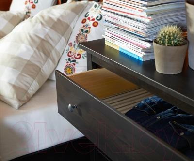 Комод Ikea Хемнэс 402.426.29 (черный/коричневый)