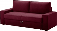 Чехол на диван - 3 местный Ikea Виласунд 402.430.49 (красно-сиреневый) -