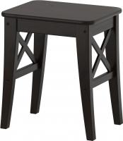 Табурет Ikea Ингольф 402.485.27 (коричнево-черный) -