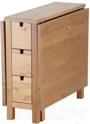 Стол-книга Ikea Норден 402.522.46 (морилка антик)