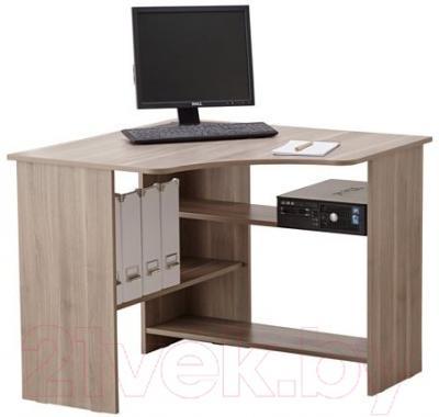 Компьютерный стол Ikea Тодален 402.560.32 (серо-коричневый)