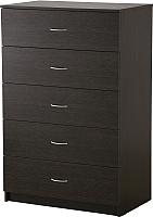 Комод Ikea Тодален 402.607.22 (черно-коричневый) -