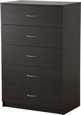 Комод Ikea Тодален 402.607.22 (черно-коричневый)