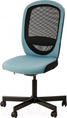 Кресло офисное Ikea Флинтан 402.838.89 (бирюзовый)