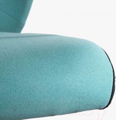 Кресло офисное Ikea Флинтан 402.838.89 (бирюзовый) - сиденье из ткани