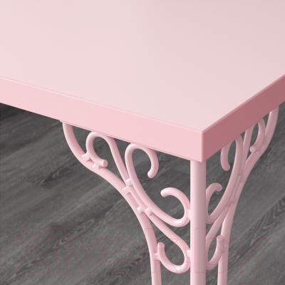 Письменный стол Ikea Фалькхойден 402.889.38 (розовый)