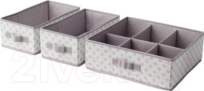 Набор коробок для хранения Ikea Свира 402.902.86