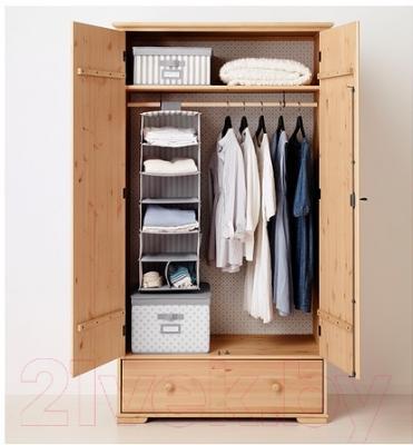Ящик для хранения Ikea Свира 402.902.91 (серый/белый)