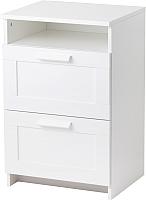 Прикроватная тумба Ikea Бримнэс 402.906.63 (белый) -