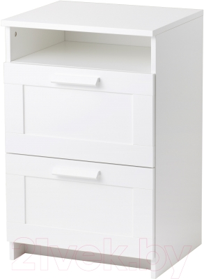 Прикроватная тумба Ikea Бримнэс 402.906.63 (белый)