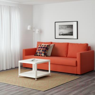 Диван-кровать Ikea Фрихетэн 403.007.23 (Шифтебу темно-оранжевый) - в интерьере