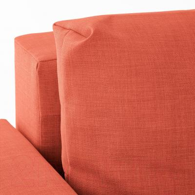 Угловой диван-кровать Ikea Фрихетэн 403.007.56 (Шифтебу темно-оранжевый)
