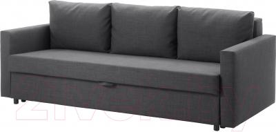Диван-кровать Ikea Фрихетэн 403.014.59 (Шифтебу темно-серый)