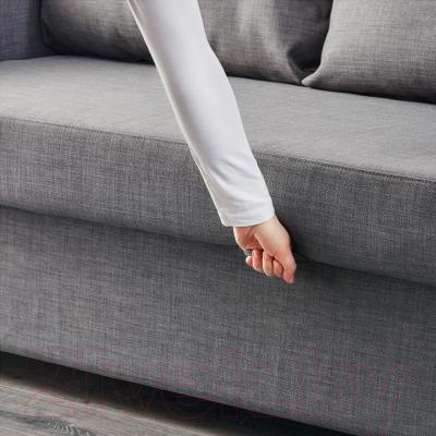 """Диван-кровать Ikea Фрихетэн 403.014.59 (Шифтебу темно-серый) - механизм трансформации """"еврокнижка"""""""