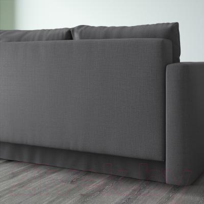 Диван-кровать Ikea Фрихетэн 403.014.59 (Шифтебу темно-серый) - вид сзади