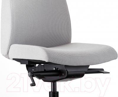 Кресло офисное Ikea Вольмар 403.155.69 (серый) - вид спереди