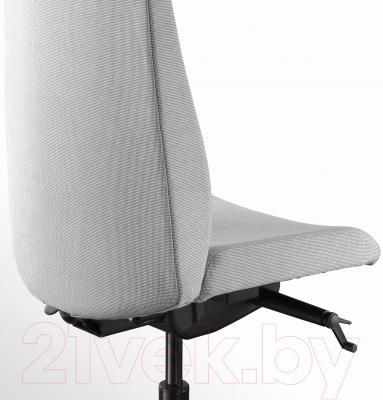 Кресло офисное Ikea Вольмар 403.155.69 (серый) - вид сзади