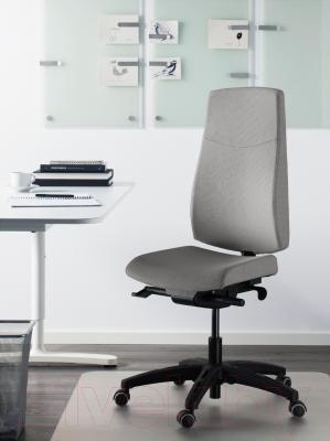 Кресло офисное Ikea Вольмар 403.155.69 (серый) - в интерьере
