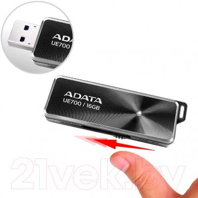 Usb flash накопитель A-data DashDrive Elite UE700 16GB (AUE700-16G-CBK)