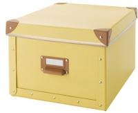 Ящик для хранения Ikea Фьелла 403.253.18 (желтый) -