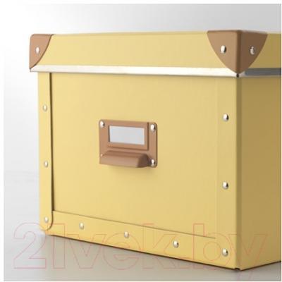 Ящик для хранения Ikea Фьелла 403.253.18 (желтый)