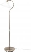 Торшер Ikea Круби 500.893.92 (стекло, никелированный) -