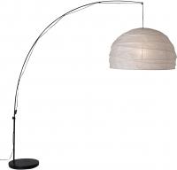 Торшер Ikea Реголит 501.034.06 (белый/черный) -