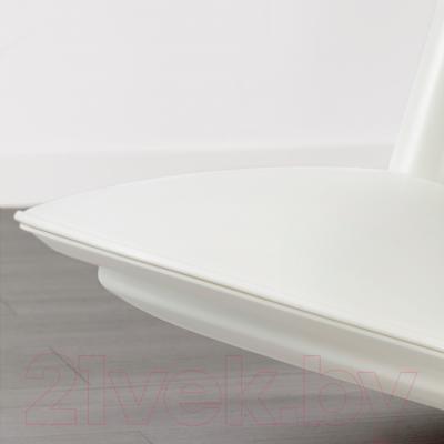 Табурет Ikea Нильс-Эрик 102.795.63 (белый/зеленый)