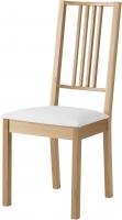Стул Ikea Берье 501.161.97 (дуб/белый) -