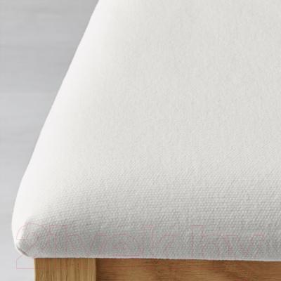Стул Ikea Берье 501.161.97 (дуб/белый)