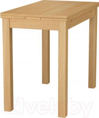 Обеденный стол Ikea Бьюрста 501.168.47 (дубовый шпон)