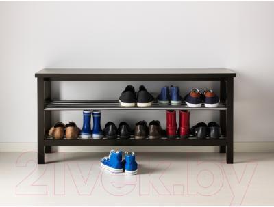 Скамья Ikea Чусиг 501.527.03 (с полкой для обуви) - в интерьере