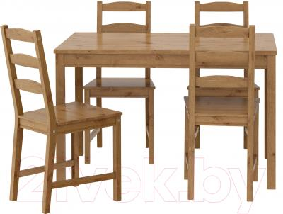 Обеденная группа Ikea Йокмокк 502.111.04 (морилка антик)