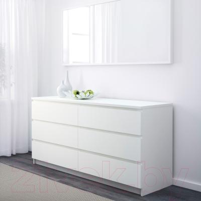 Комод Ikea Мальм 502.145.55 (белый)