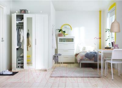 Комод Ikea Бримнэс 502.180.25 (белый, матовое стекло)