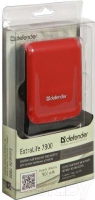 Портативное зарядное устройство Defender ExtraLife 7800 (83604)