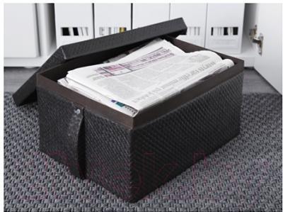 Ящик для хранения Ikea Бладис 502.193.55 (черный)